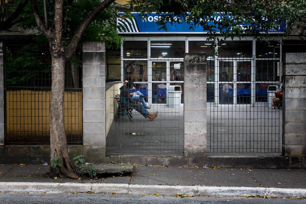 Hospital da Vila Alpina (zona leste), para onde foram levados dois vizinhos após briga na Vila Ema - Rubens Cavallari - 15.out.2019/Folhapress
