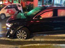 Audi Q3 usada por criminoso para tentar fugir da polícia em São Bernardo (SP). Foto: Divulgação